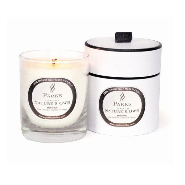 Sviečka s vôňou cédrového dreva, vanilky a škorice Parks Candles London Enriching Spa, 45 hodín horenia