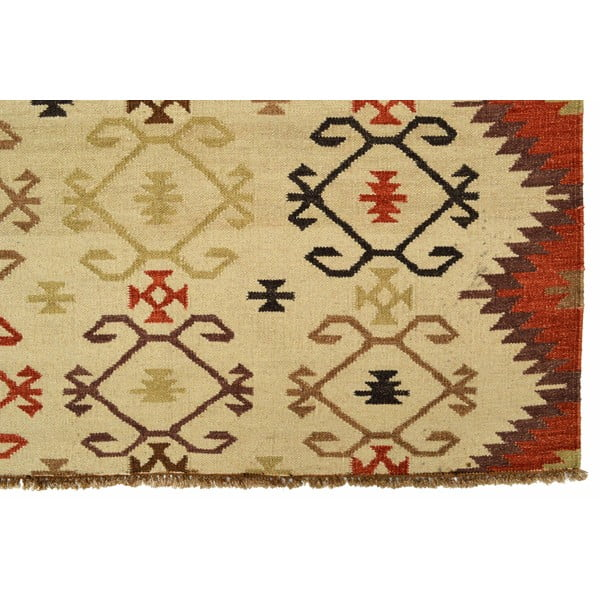 Vlnený koberec Kilim no. 146, 140x200 cm