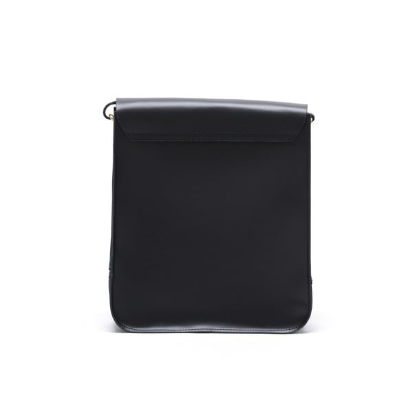 Kožená kabelka Renata Corsi 399, čierna