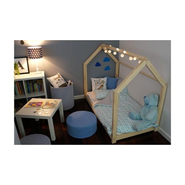 Detská posteľ z borovicového dreva Benlemi Tery, 90 x 180 cm
