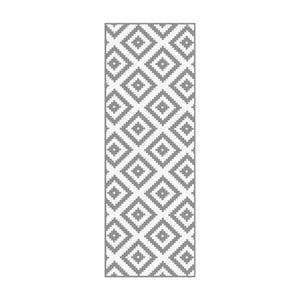 Vinylový koberec Floorart Dentado Gris, 50 x 140 cm