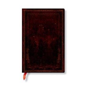 Nelinkovaný zápisník s mäkkou väzbou Paperblanks Moroccan, 9,5 x 14 cm