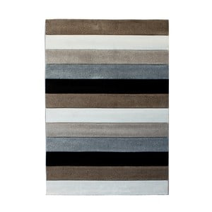 Sivo-hnedý koberec Tomasucci Lines, 160 x 230 cm