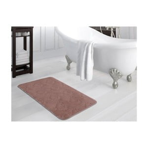 Staroružová kúpeľňová predložka Nala, 70×110 cm