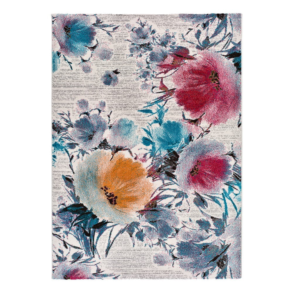 Koberec Universal Bukit Flowers, 80 x 150 cm