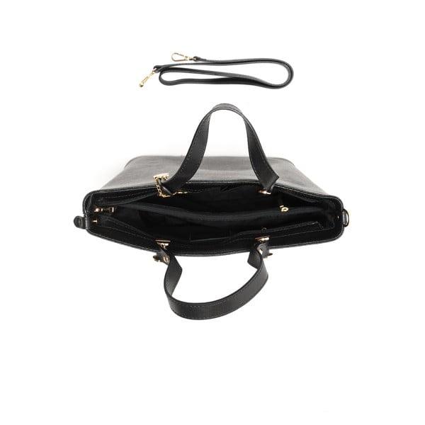 Kožená kabelka Damien 432 Nero