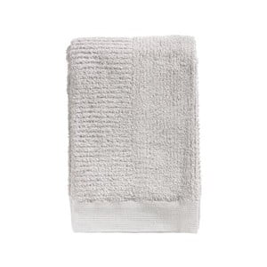 Svetlosivá osuška zo 100% bavlny Zone Classic, 70×140 cm