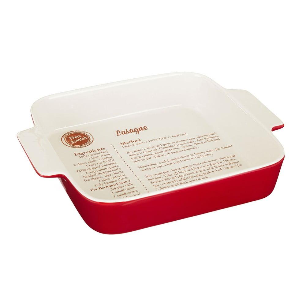 Nádoba na pečenie s receptom na lasagne Premier Housewares From Scratch