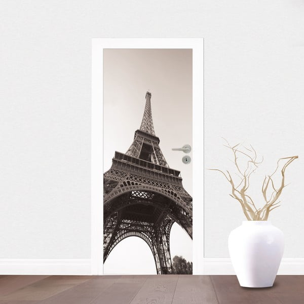 Samolepka na dvere Eiffelovka