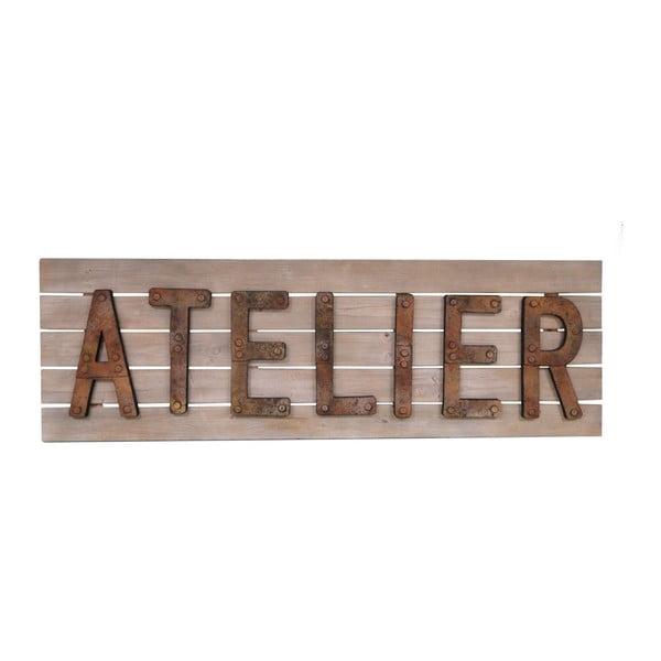 Drevená ceduľa Antic Line Atelier