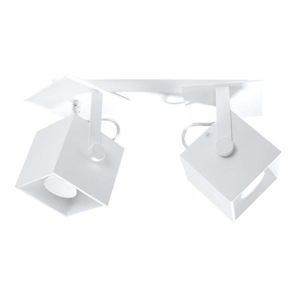 Biele stropné svietidlo Nice Lamps Noe Dos
