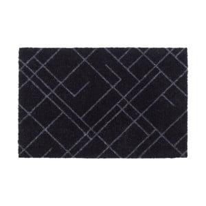 Čierno-sivá rohožka Tica Copenhagen Lines, 40 x 60 cm