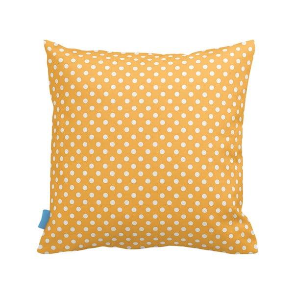 Vankúš Yellow Dots, 43x43 cm