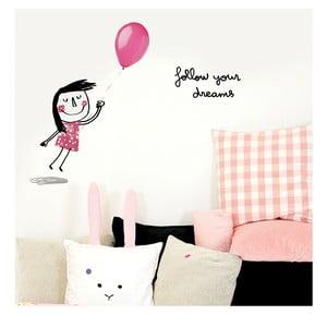 Samolepka Chispum Follow Your Dreams Girl