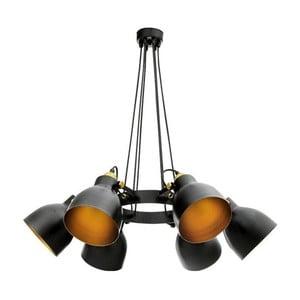 Čierne závesné svietidlo Masivworks Pinaclo