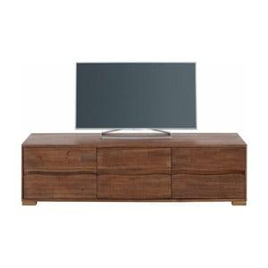 Trojdverová TV komoda z akáciového dreva Støraa Surf