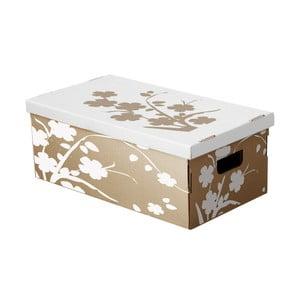 Sada 3 úložných boxov Eco, 45x27 cm