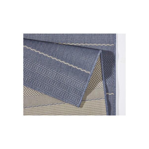 Koberec vhodný do exteriéru Sunshine 160x230 cm, modrý