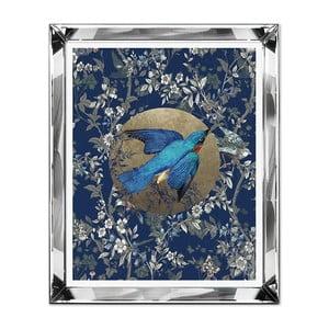 Nástenný obraz JohnsonStyle The Blue Bird, 51 x 61 cm