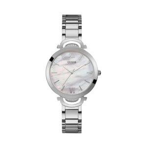 Dámske hodinky v striebornej farbe s antikoro remienkom Guess W1090L1