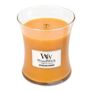 Sviečka s vôňou pomaranča Woodwick, doba horenia 60 hodín