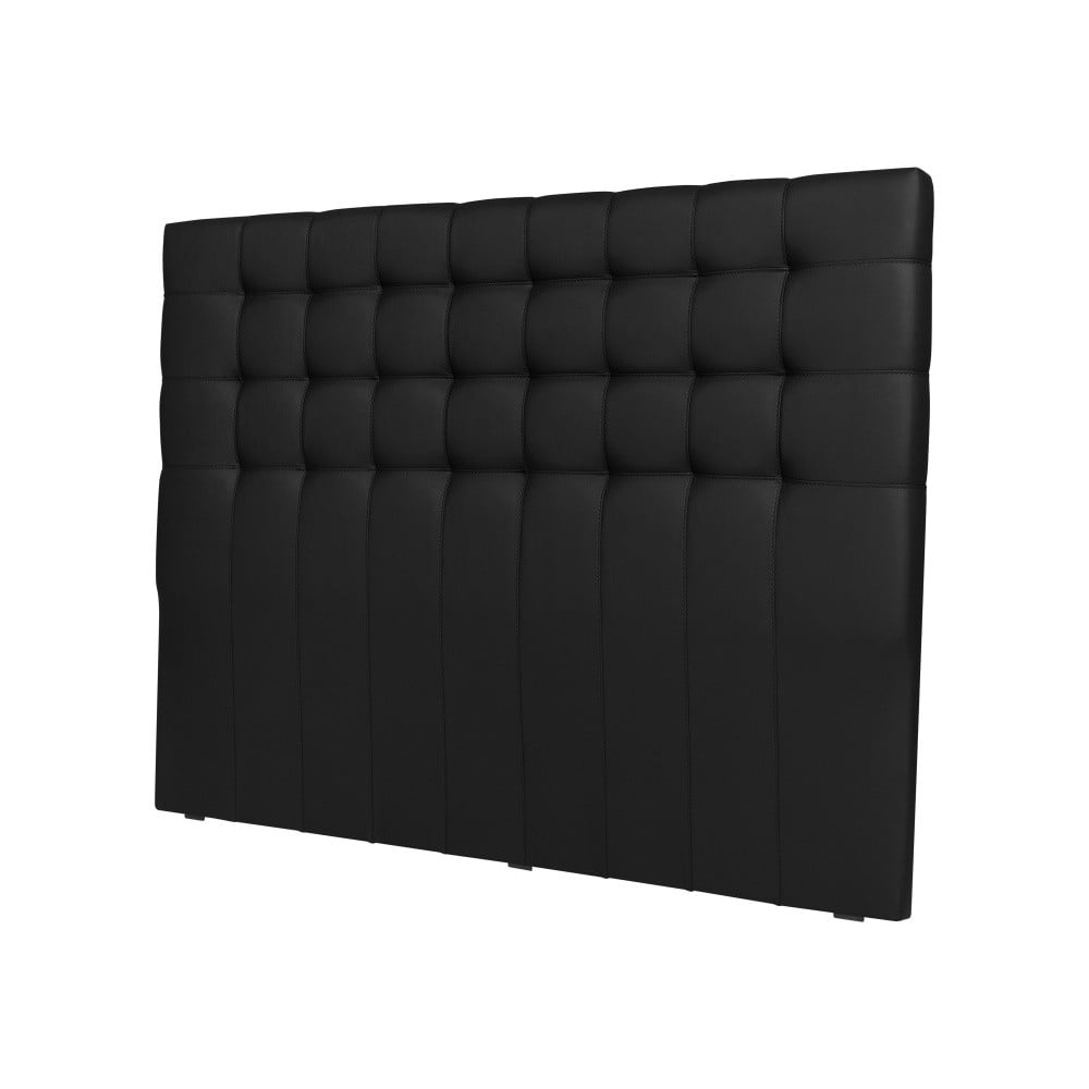 Čierne čelo postele Windsor & Co Sofas Deimos, 140 × 120 cm