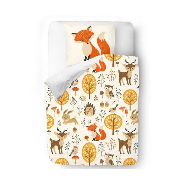 Obliečky Fox Forest, 140x200 cm