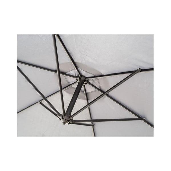 Slnečník Vetro 300 cm, antracitový
