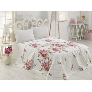 Ľahká bavlnená prikrývka cez posteľ Angela, 200 x 230 cm
