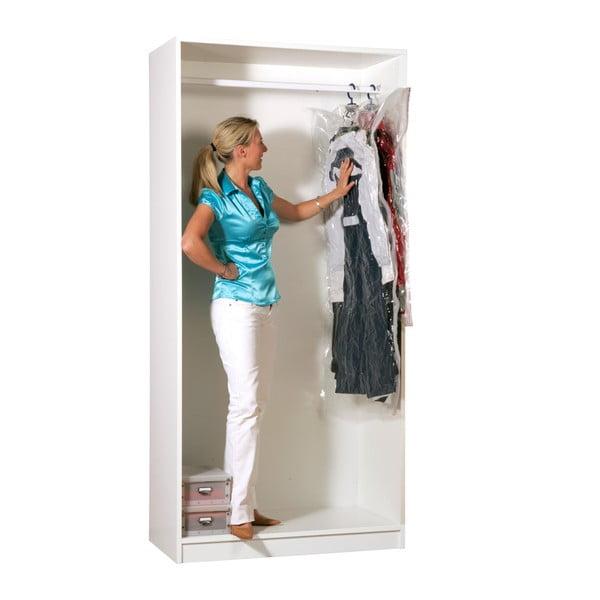 Vákuové obaly na oblečenie Compactor Clear M + L, 2 ks