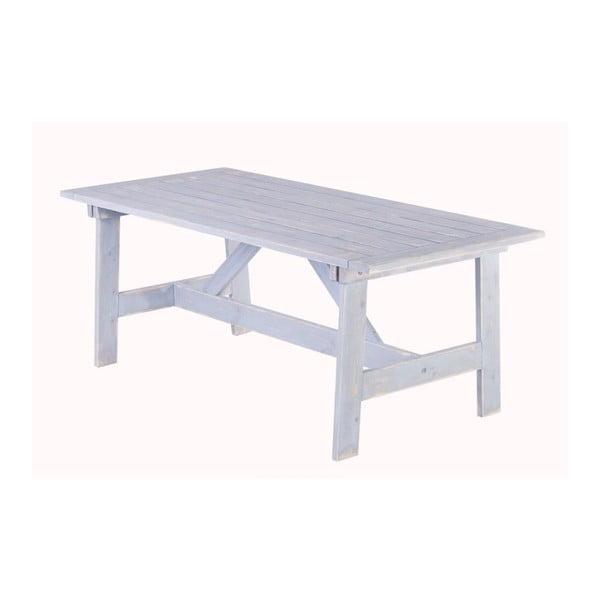 Záhradný stôl Siesta White, 180x88 cm