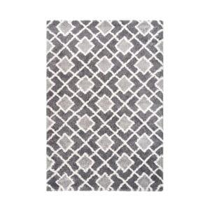 Sivý koberec Kayoom Loran, 120 x 170 cm