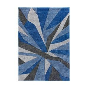 Modro-sivý koberec Flair Rugs Shatter Blue Grey, 160×230cm
