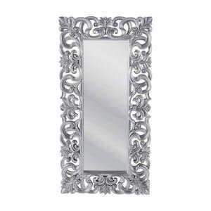 Zrkadlo v striebornej farbe Kare Design Baroque, výška 180cm