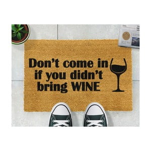 Rohožka Artsy Doormats Without Wine, 40 x 60 cm