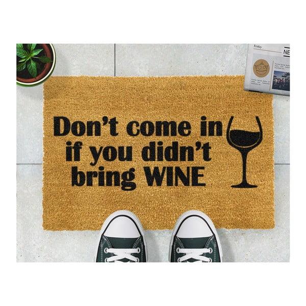 Rohožka Artsy Doormats Without Wine, 40x60cm