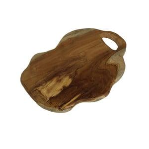 Doska na krájanie z teakového dreva HSM Collection Flate S