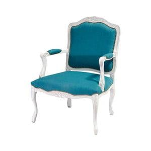 Modro-biela stolička Evergreen Hous Patchwork Ocean