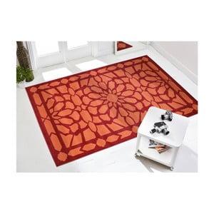 Vysokoodolný koberec Floorita Estro Rojo, 160 x 230 cm