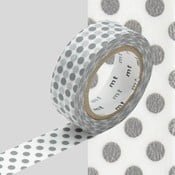 Washi páska Dot Dot Grey