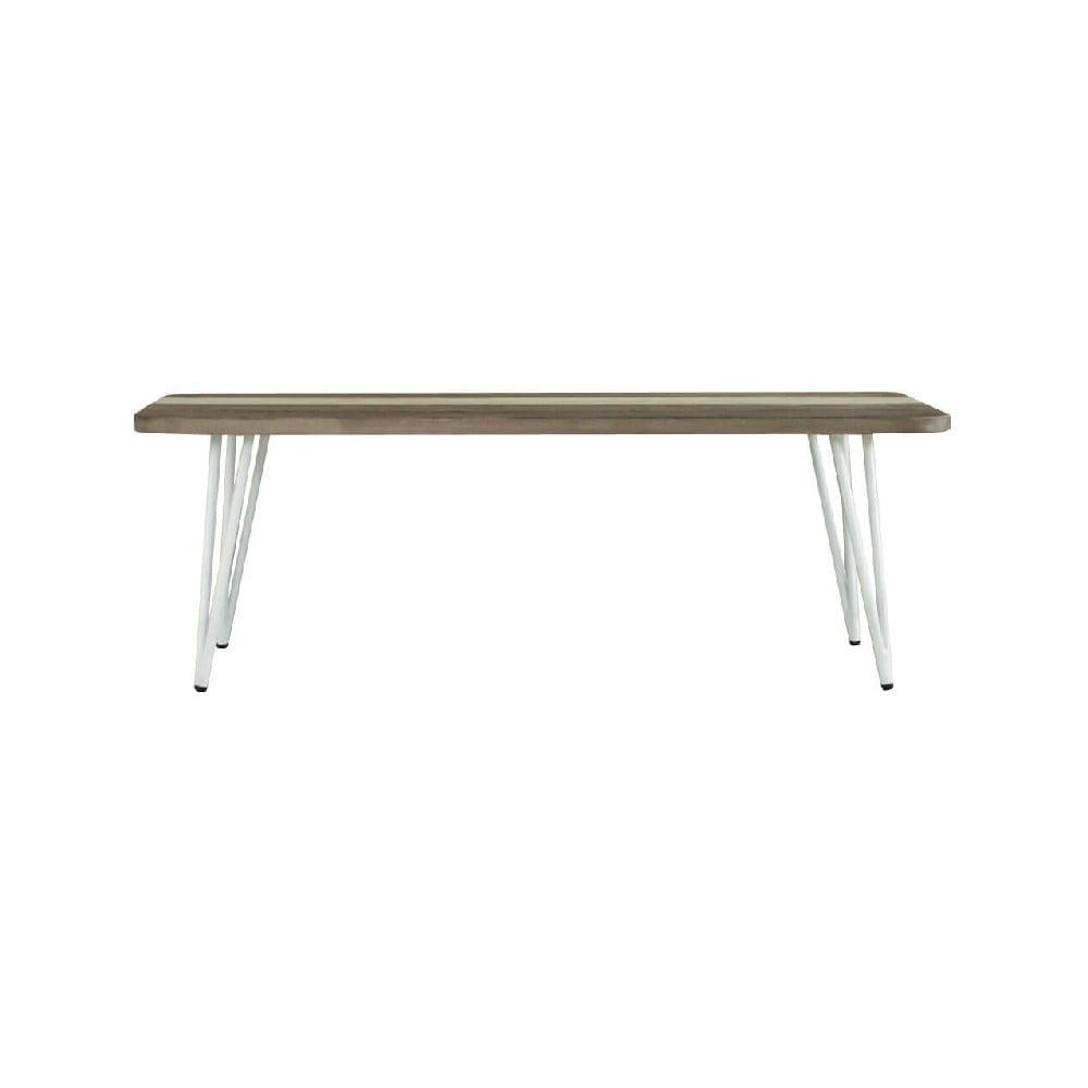 Jedálenský stôl z akáciového dreva sømcasa Niza, dĺžka 120 cm