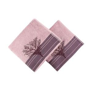 Sada 2 vínových uterákov Infinity, 50 x 90 cm