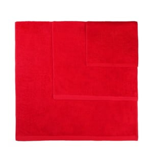 Sada 3 červených uterákov Artex Alfa