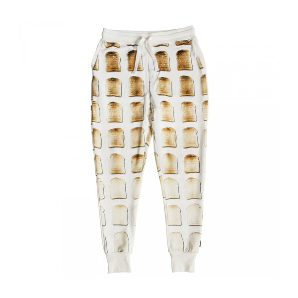 Dámske biele nohavice Snurk Toast, M