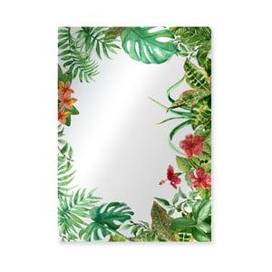 Nástenné zrkadlo Surdic Espejo Decorado Tropical Monstera Frame, 50×70 cm