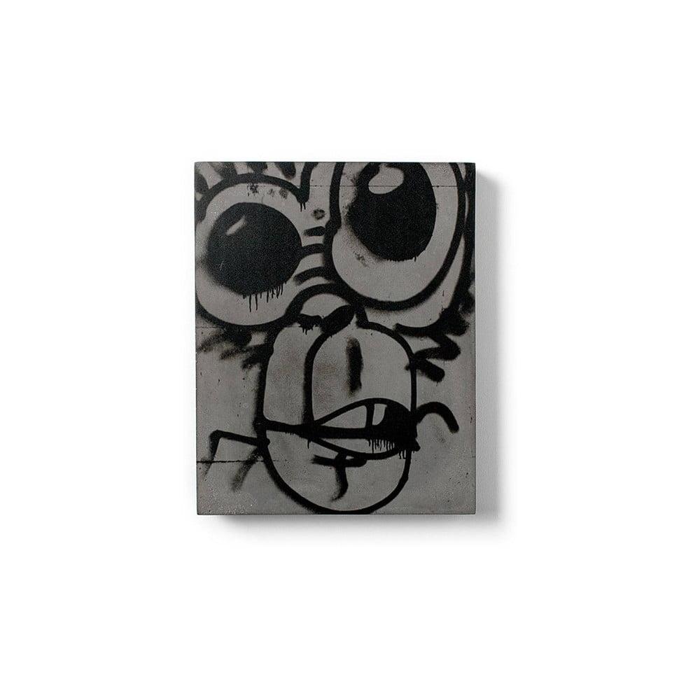 Betónový nástenný obraz Lyon Béton Monkey