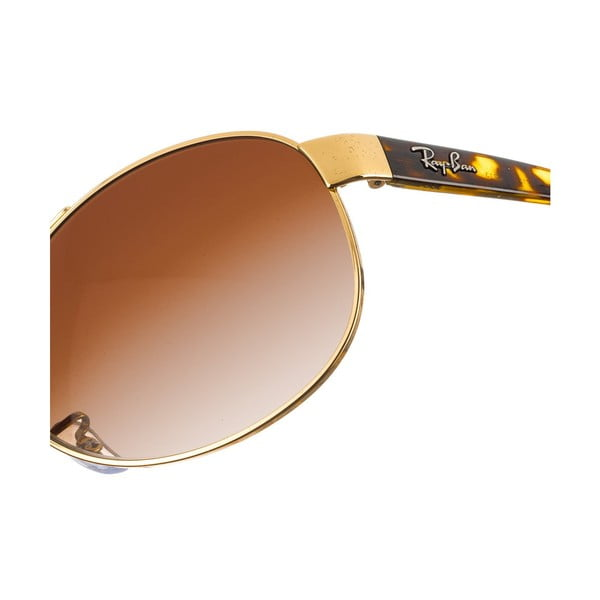 Unisex slnečné okuliare Ray-Ban 3386 Brown 63 mm