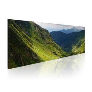 Obraz na plátne Artgeist Calm Landscape, 120x40cm