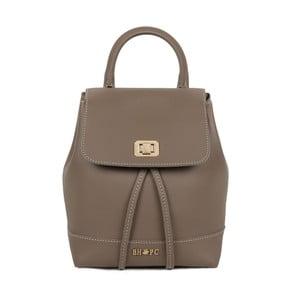 Béžový batoh z eko kože Beverly Hills Polo Club Polly