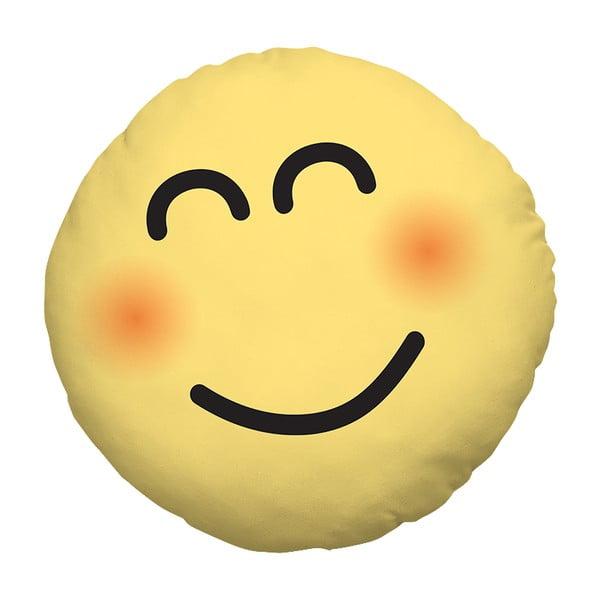 Vankúš Emoji Smile, 39 cm